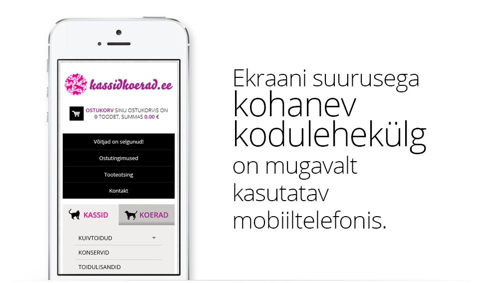 Kassidkoerad.ee e-pood ja turundusmaterjalid