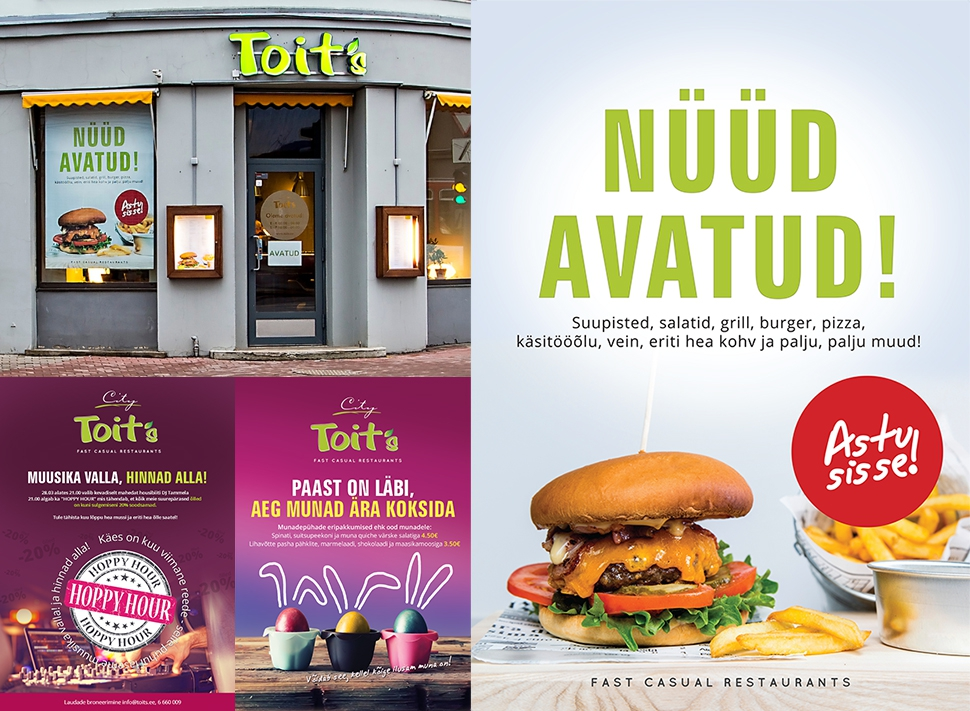 Toit`s  - Fast Casual Restaurant